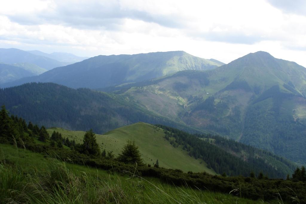 Феркеу найвища точка Мармарошу