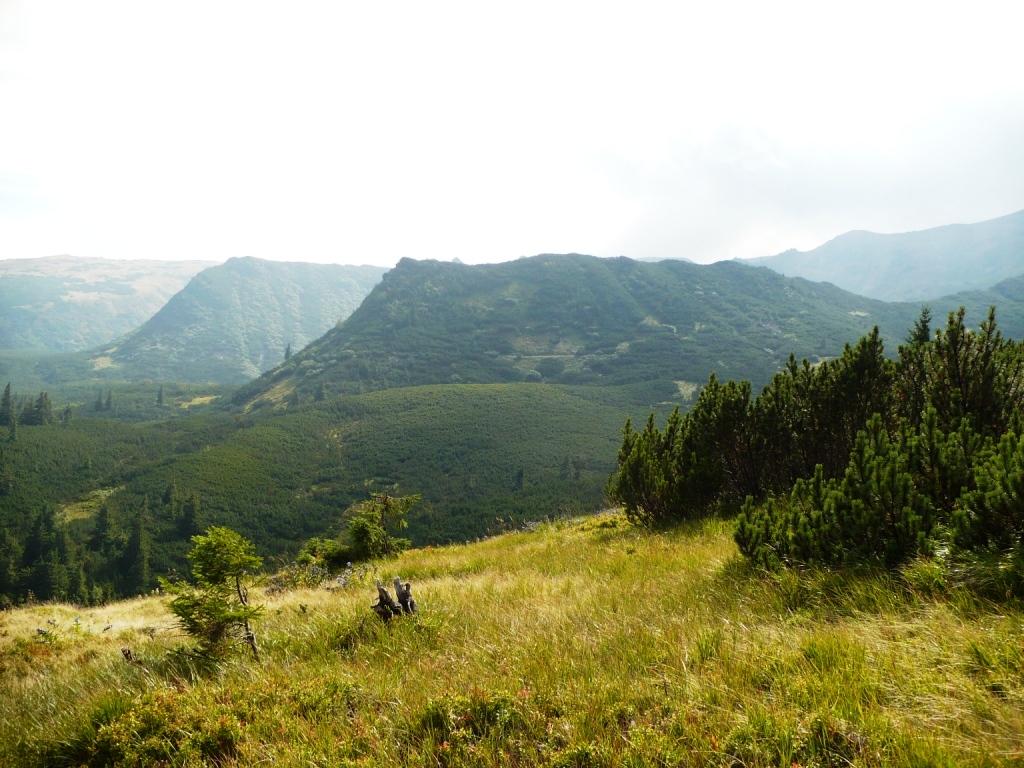 Чорногірський хребет похід