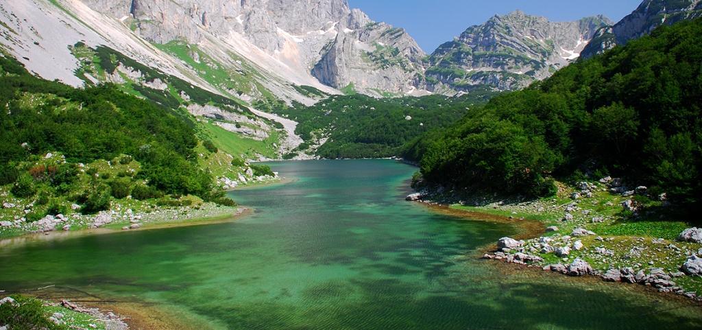 Похід по Чорногорії. Озеро Шкрка