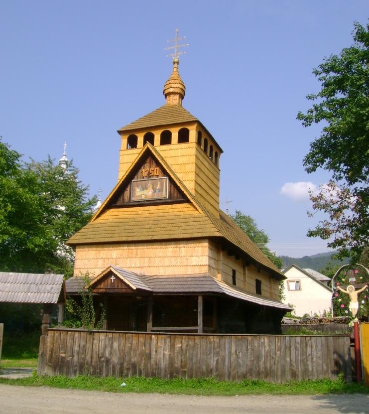Дерев'яна церква в с. Ділове