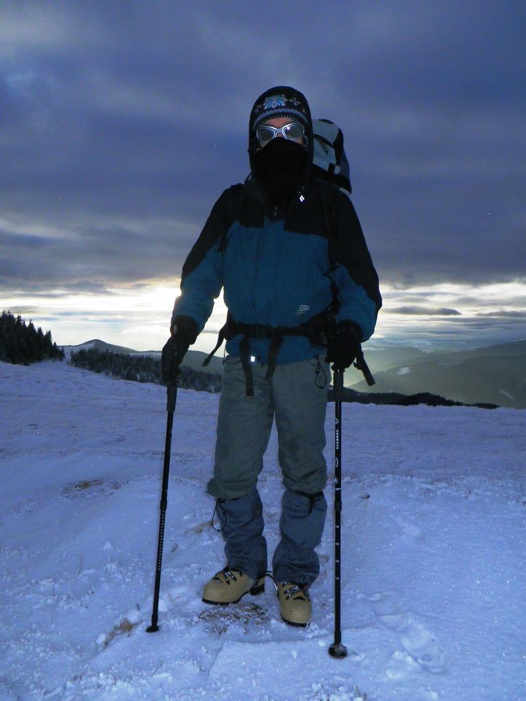 Зимове спорядження для походу  в Карпати