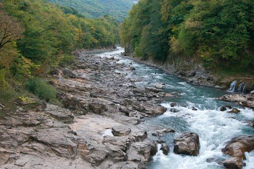Хаджох,річка Біла